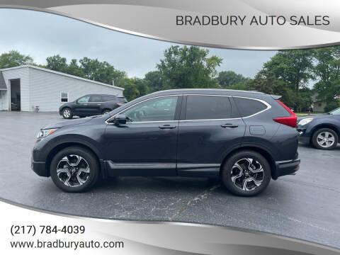 2017 Honda CR-V for sale at BRADBURY AUTO SALES in Gibson City IL