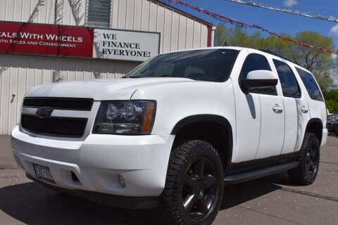 2007 Chevrolet Tahoe for sale at Dealswithwheels in Inver Grove Heights MN