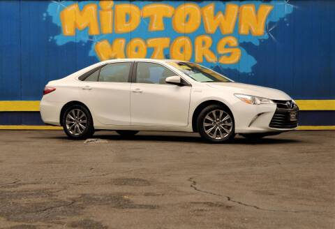 2017 Toyota Camry Hybrid for sale at Midtown Motors in San Jose CA