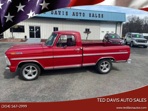 1972 Ford F-100 for sale at Ted Davis Auto Sales in Riverton WV
