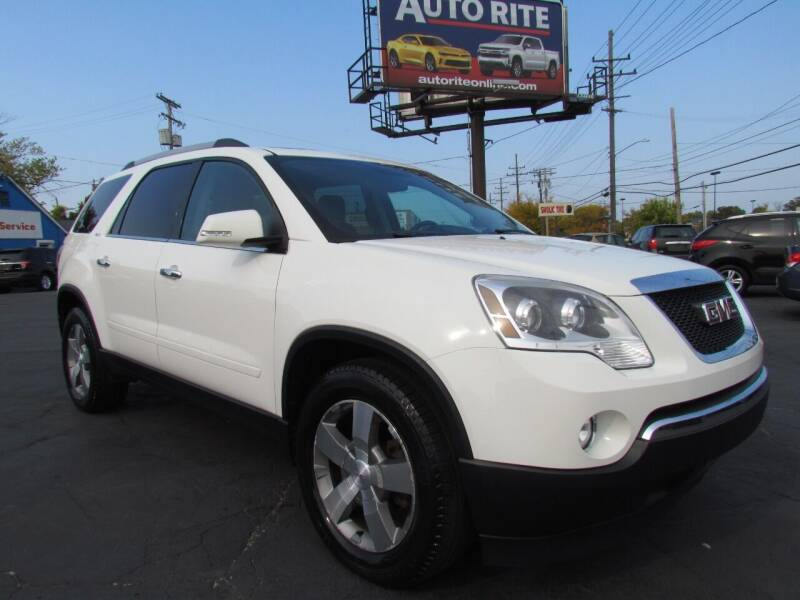 2012 GMC Acadia for sale at Auto Rite in Cleveland OH