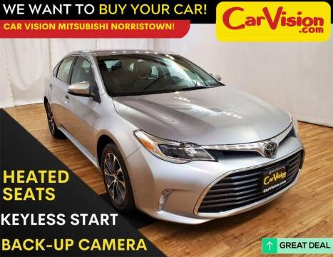 2018 Toyota Avalon for sale at Car Vision Mitsubishi Norristown in Trooper PA