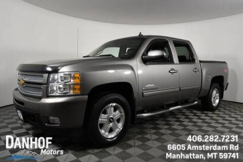 2013 Chevrolet Silverado 1500 for sale at Danhof Motors in Manhattan MT