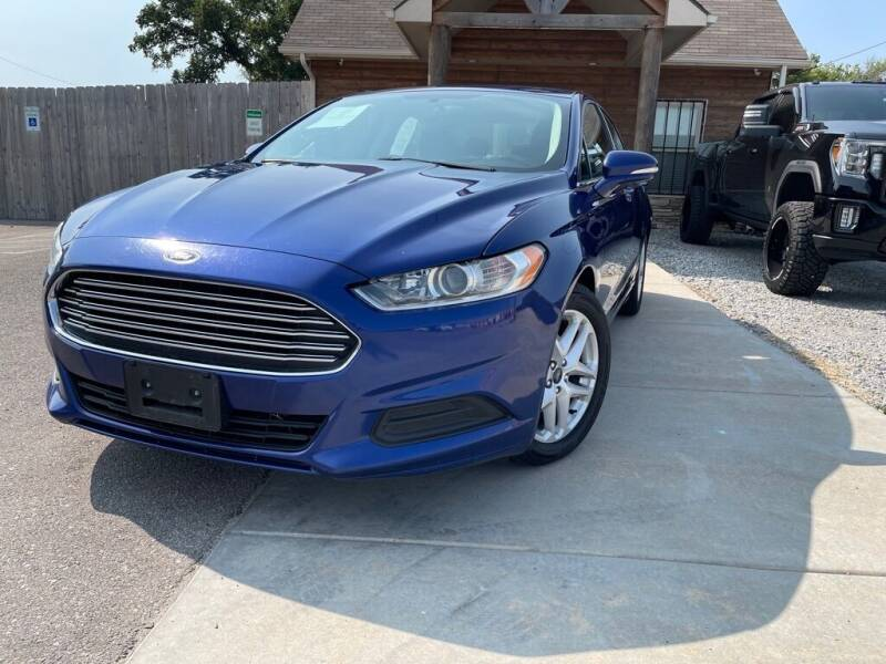 2016 Ford Fusion for sale at Farha Used Cars in Wichita KS