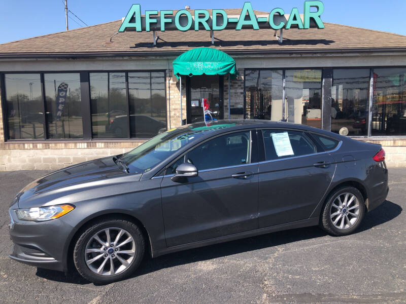 2017 Ford Fusion for sale at Afford-A-Car in Moraine OH