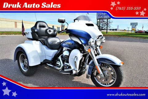 2015 Harley-Davidson Tri Glide Ultra for sale at Druk Auto Sales - New Inventory in Ramsey MN