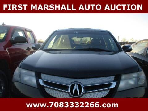2008 Acura MDX for sale at First Marshall Auto Auction in Harvey IL