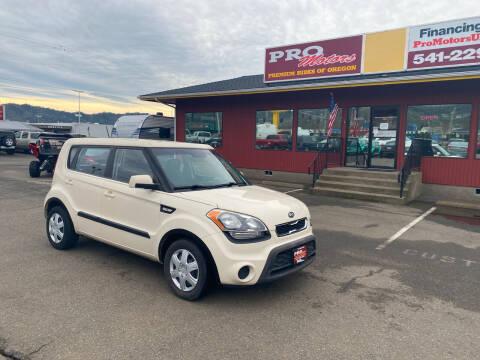2012 Kia Soul for sale at Pro Motors in Roseburg OR
