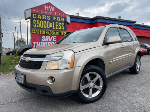 2007 Chevrolet Equinox for sale at HW Auto Wholesale in Norfolk VA