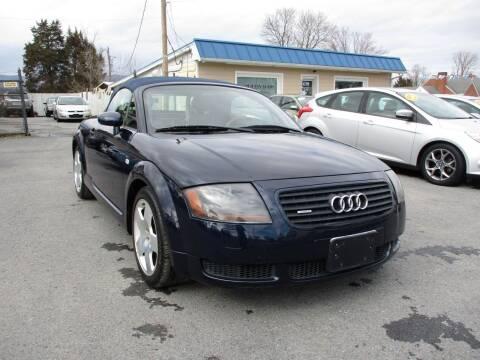 2002 Audi TT for sale at Supermax Autos in Strasburg VA