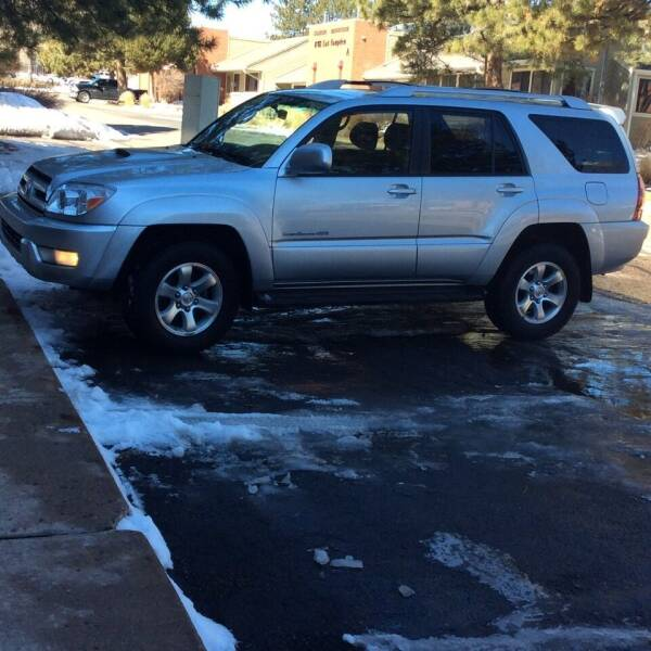 2004 Toyota 4Runner for sale at AROUND THE WORLD AUTO SALES in Denver CO