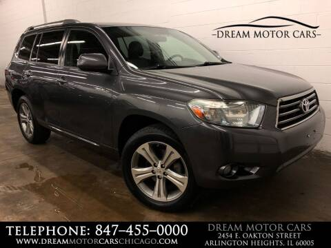2009 Toyota Highlander for sale at Dream Motor Cars in Arlington Heights IL
