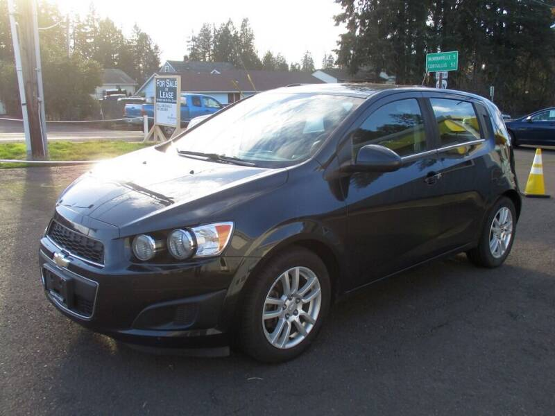 2015 Chevrolet Sonic for sale at Yellow Line Motors in Lafayette OR