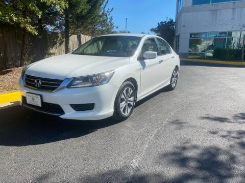 2014 Honda Accord for sale at Super Bee Auto in Chantilly VA