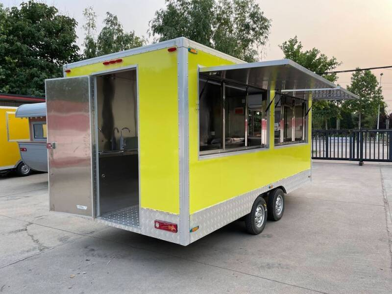 2021 Midwest Custom Equipment Concession Trailer 15 Foot Lon for sale at Cannon Falls Auto Sales in Cannon Falls MN