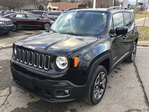 2018 Jeep Renegade for sale at One Price Auto in Mount Clemens MI