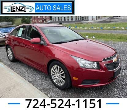 2011 Chevrolet Cruze for sale at LENZI AUTO SALES in Sarver PA