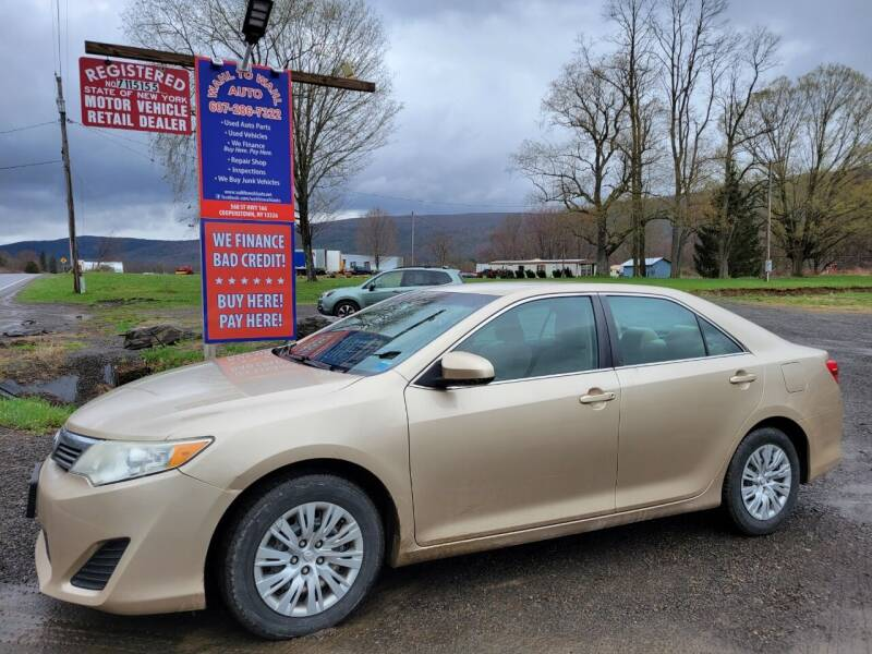 2012 Toyota Camry for sale at Wahl to Wahl Auto Parts in Cooperstown NY