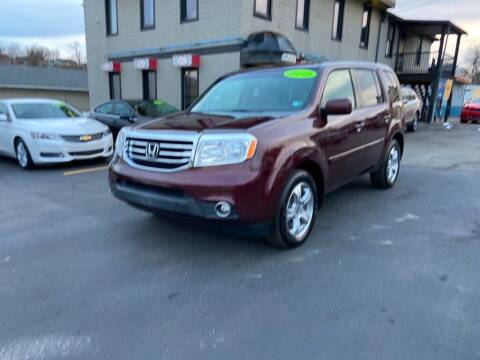 2013 Honda Pilot for sale at Sisson Pre-Owned in Uniontown PA