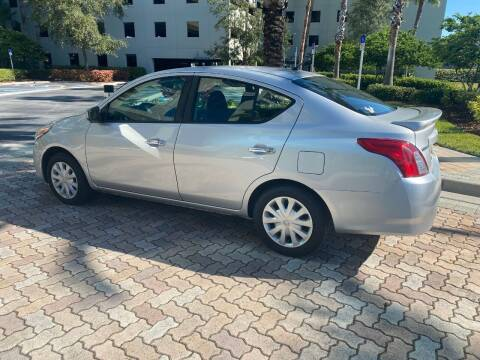 2017 Nissan Versa for sale at CYBER CAR STORE in Tampa FL