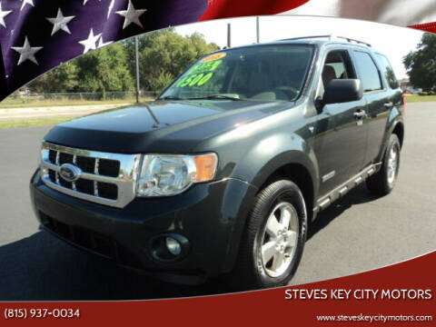 2008 Ford Escape for sale at Steves Key City Motors in Kankakee IL