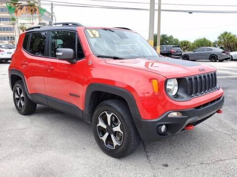 2019 Jeep Renegade for sale at GATOR'S IMPORT SUPERSTORE in Melbourne FL