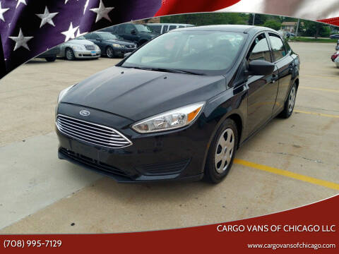 2015 Ford Focus for sale at Cargo Vans of Chicago LLC in Mokena IL