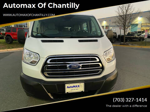 2019 Ford Transit Passenger for sale at Automax of Chantilly in Chantilly VA