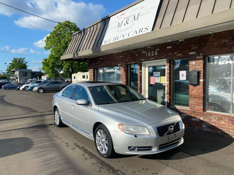 2010 Volvo S80 for sale at M&M Auto Sales in Portland OR