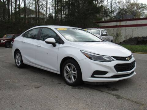 2018 Chevrolet Cruze for sale at Discount Auto Sales in Pell City AL