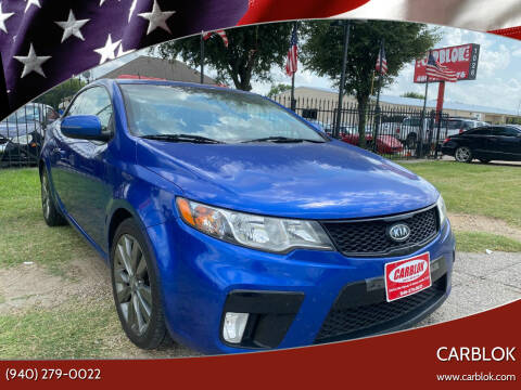 2011 Kia Forte Koup for sale at CARBLOK in Lewisville TX
