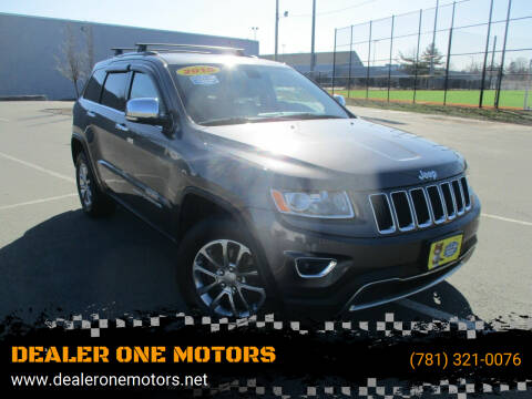 2015 Jeep Grand Cherokee for sale at DEALER ONE MOTORS in Malden MA