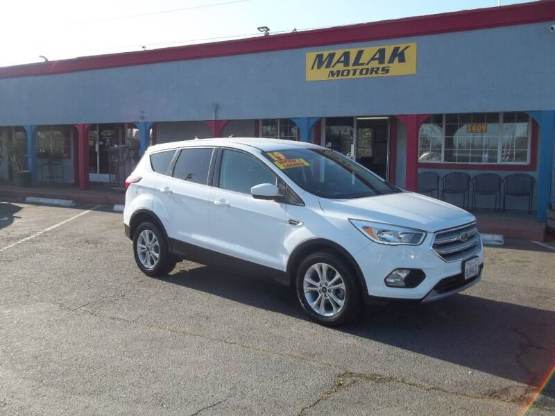 2019 Ford Escape for sale at Atayas Motors INC #1 in Sacramento CA