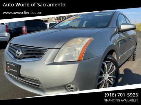 2010 Nissan Sentra for sale at Auto World of Sacramento Stockton Blvd in Sacramento CA