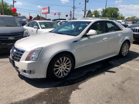 2012 Cadillac CTS for sale at SuperBuy Auto Sales Inc in Avenel NJ