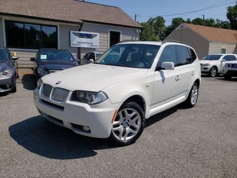 2007 BMW X3 for sale at M & A Motors LLC in Marietta GA