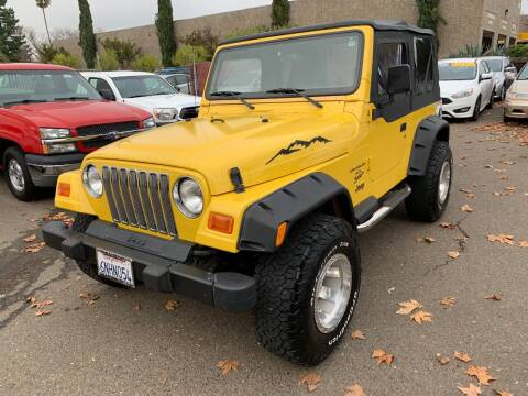 2000 Jeep Wrangler for sale at C. H. Auto Sales in Citrus Heights CA