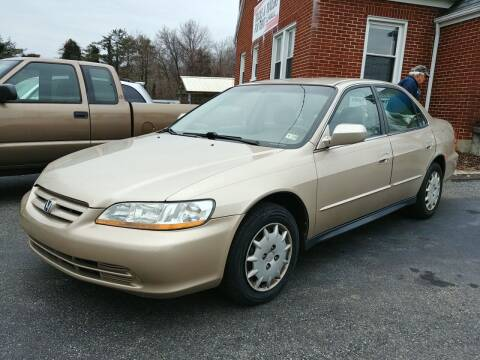 2002 Honda Accord for sale at Regional Auto Sales in Madison Heights VA