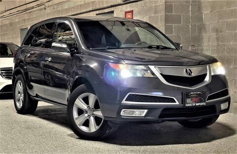 2011 Acura MDX for sale at Haus of Imports in Lemont IL