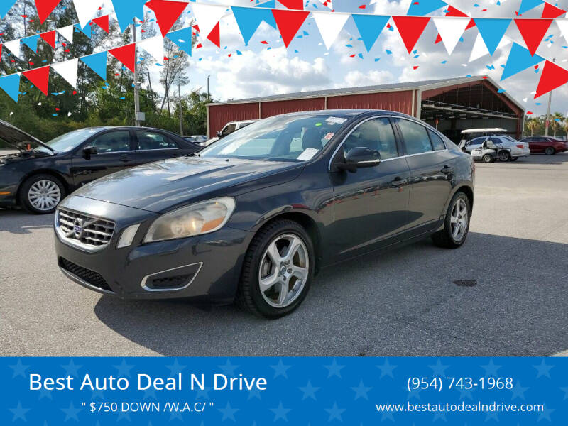 2012 Volvo S60 for sale at Best Auto Deal N Drive in Hollywood FL