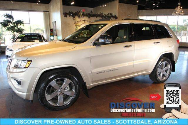 2014 Jeep Grand Cherokee for sale at Discover Pre-Owned Auto Sales in Scottsdale AZ