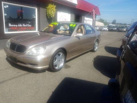 2002 Mercedes-Benz S-Class for sale at Bonney Lake Used Cars in Puyallup WA