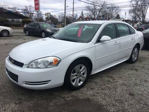 2010 Chevrolet Impala for sale at Antique Motors in Plymouth IN