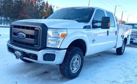 2015 Ford F-250 Super Duty for sale at Affordable Auto Sales in Webster WI