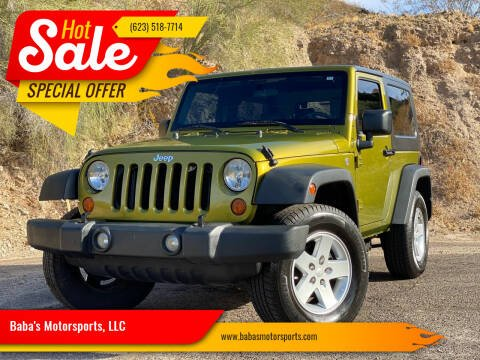 2007 Jeep Wrangler for sale at Baba's Motorsports, LLC in Phoenix AZ