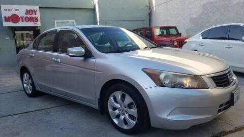 2008 Honda Accord for sale at Joy Motors in Los Angeles CA