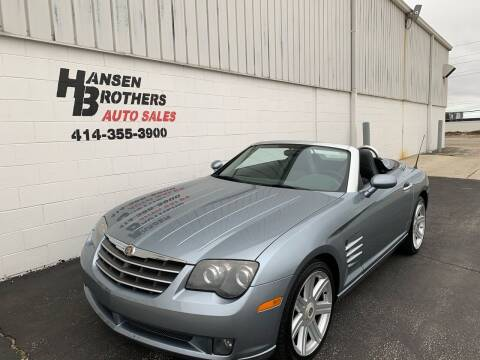 2005 Chrysler Crossfire for sale at HANSEN BROTHERS AUTO SALES in Milwaukee WI