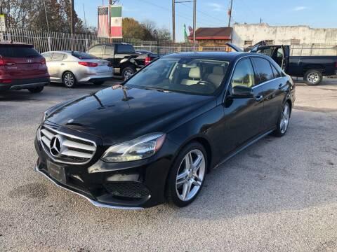 2014 Mercedes-Benz E-Class for sale at Saipan Auto Sales in Houston TX