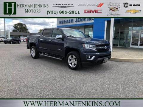 2018 Chevrolet Colorado for sale at Herman Jenkins Used Cars in Union City TN