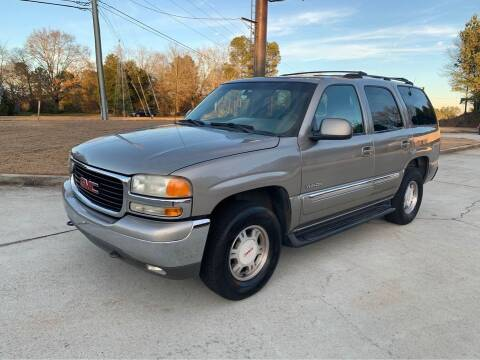 2001 GMC Yukon for sale at Two Brothers Auto Sales in Loganville GA